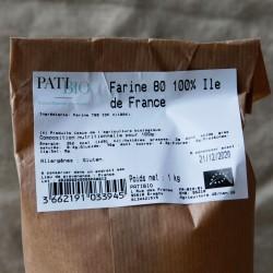 FARINE ILE-DE-FRANCE T80
